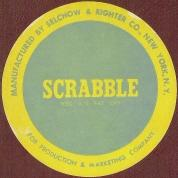 1954 SCRABBLE sticker (click to enlarge.)