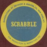 1955 SCRABBLE sticker 