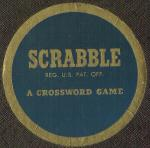 1961 SCRABBLE sticker (click to enlarge.)