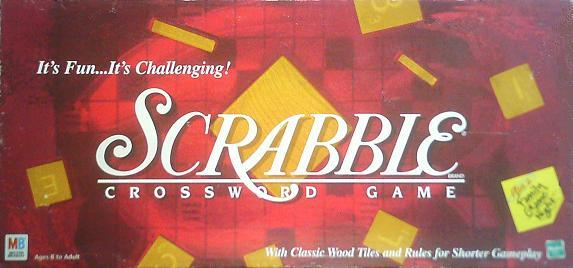1999-2001 Milton Bradley Scrabble box.