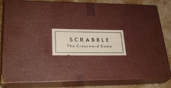 Scrabble box, 1949 to ?