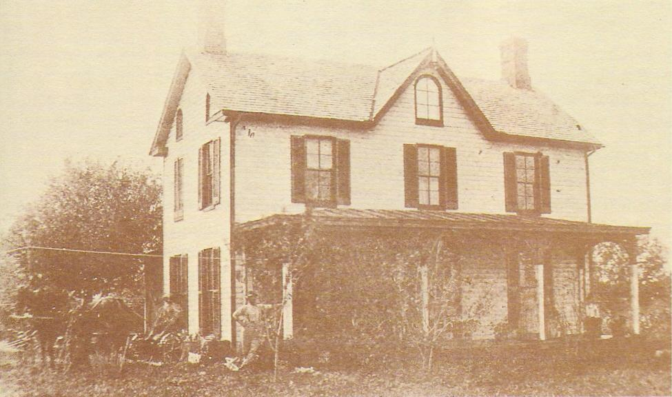 Farmhouse before being raised.