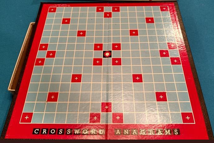 Crossword Anagrams board.