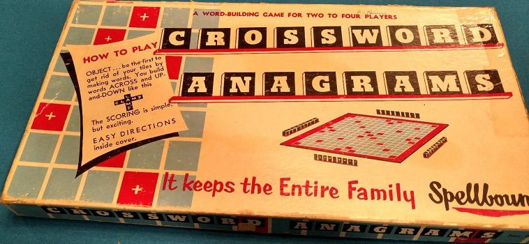 Crossword Anagrams box top.